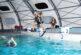Entraînements à la piscine